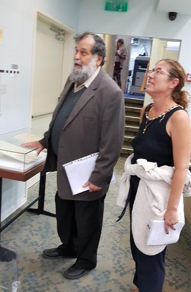 הרב יוחנן פריד, מנהל בית הרב קוק מבקר בגנזים !