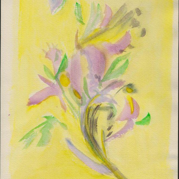 לאה גולדברג משוררת וציירת